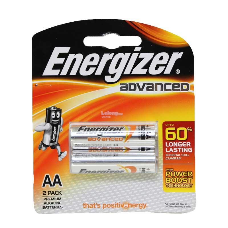 Energizer Advanced E2 AA 2 Pcs Battery (X91RP2)