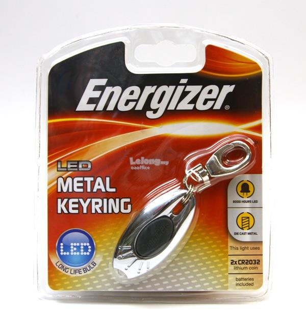 Energizer LED Metal Key Ring Style Light