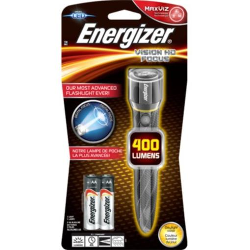 ENERGIZER PROFESSIONAL METAL LED FLASH LIGHT / TORCH LIGHT 400 LUMENS