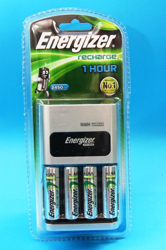 Energizer recharge 1 HOUR Rechargeable Set 4pcs 2450mAh AA