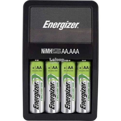 Energizer RECHARGE MAXI with 4 AA 2000mAh Batteries