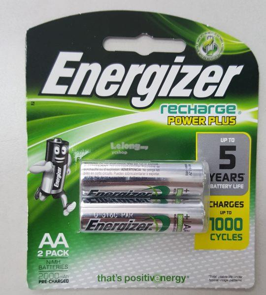 Energizer Recharge Power Plus AA 2pack 1500mAh (NH15PPRP2)