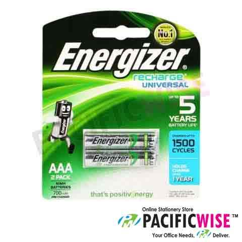 Energizer Recharge Universal Battery AAA (2pcs)
