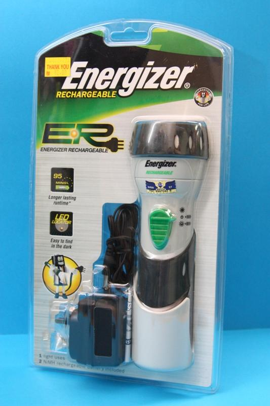 Energizer Rechargeable Torch Light Flashlight