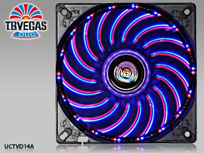 # ENERMAX T.B. VEGAS DUO 140mm *2-Color LED Combination # PROMO!