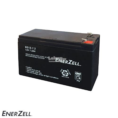 Enerzell 12V 7.2Ah VRLA Battery
