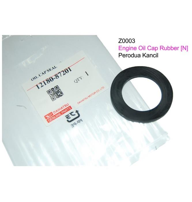 Engine Oil Cap Rubber - Kancil ( Z0003 )