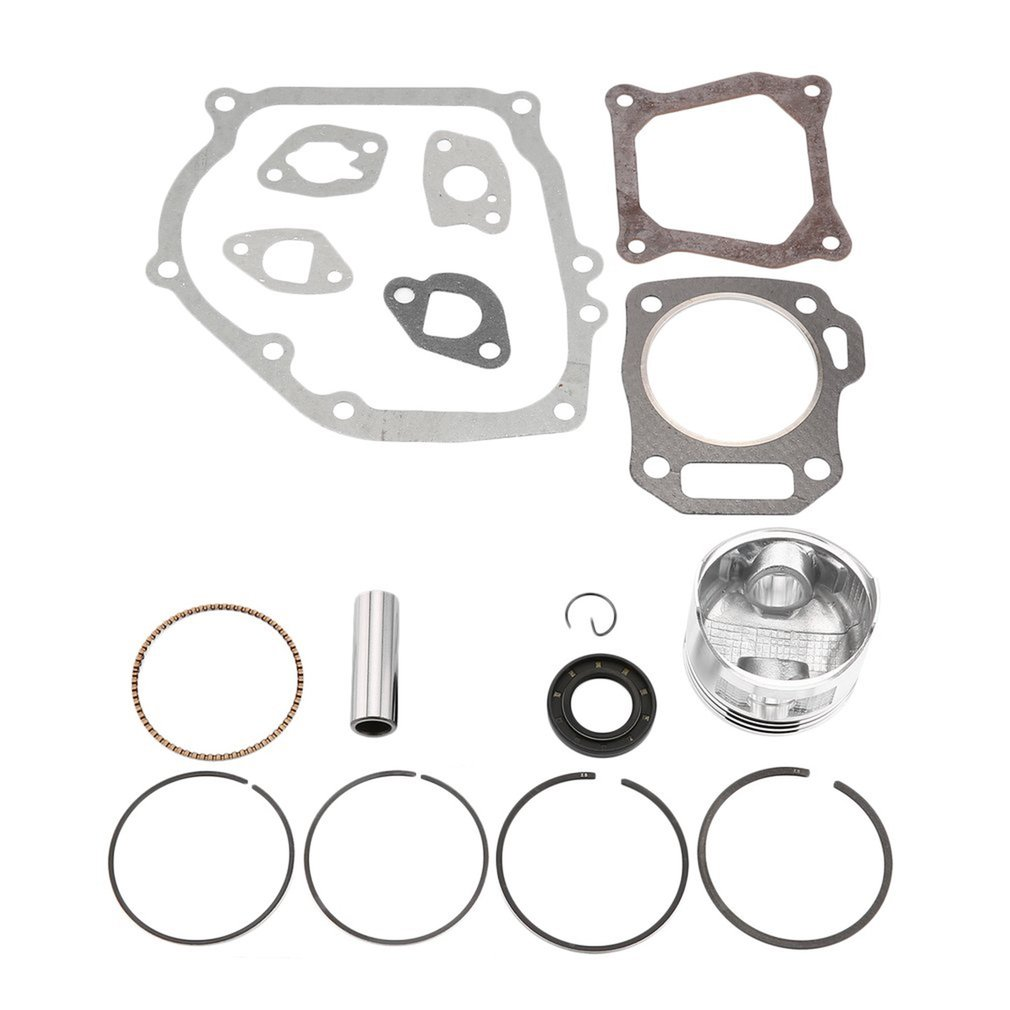 Engine Piston Crankcase Oil Seal Gasket Needle Retaining Ring For Hond..