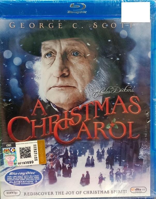 A Christmas Carol Movie.English Movie A Christmas Carol Blu Ray
