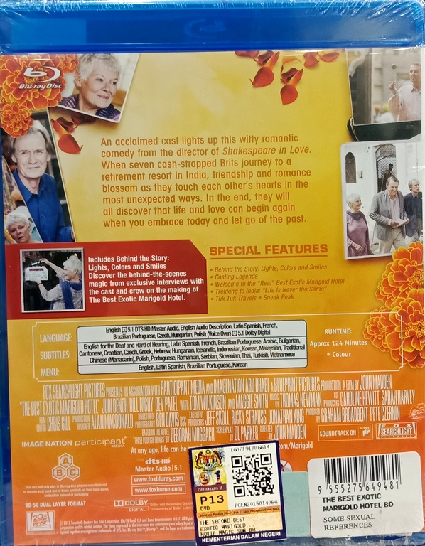 the best exotic marigold hotel blu ray