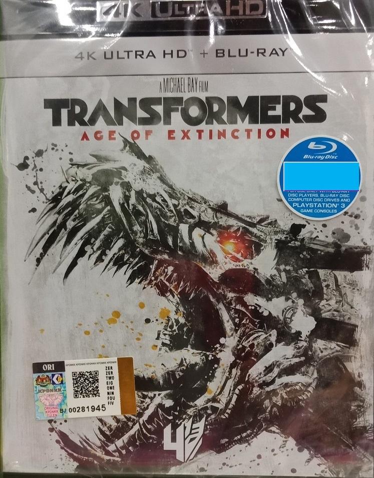 English Movie Transformers Age Of Extinction Michael Bay 4K Ultra HD +
