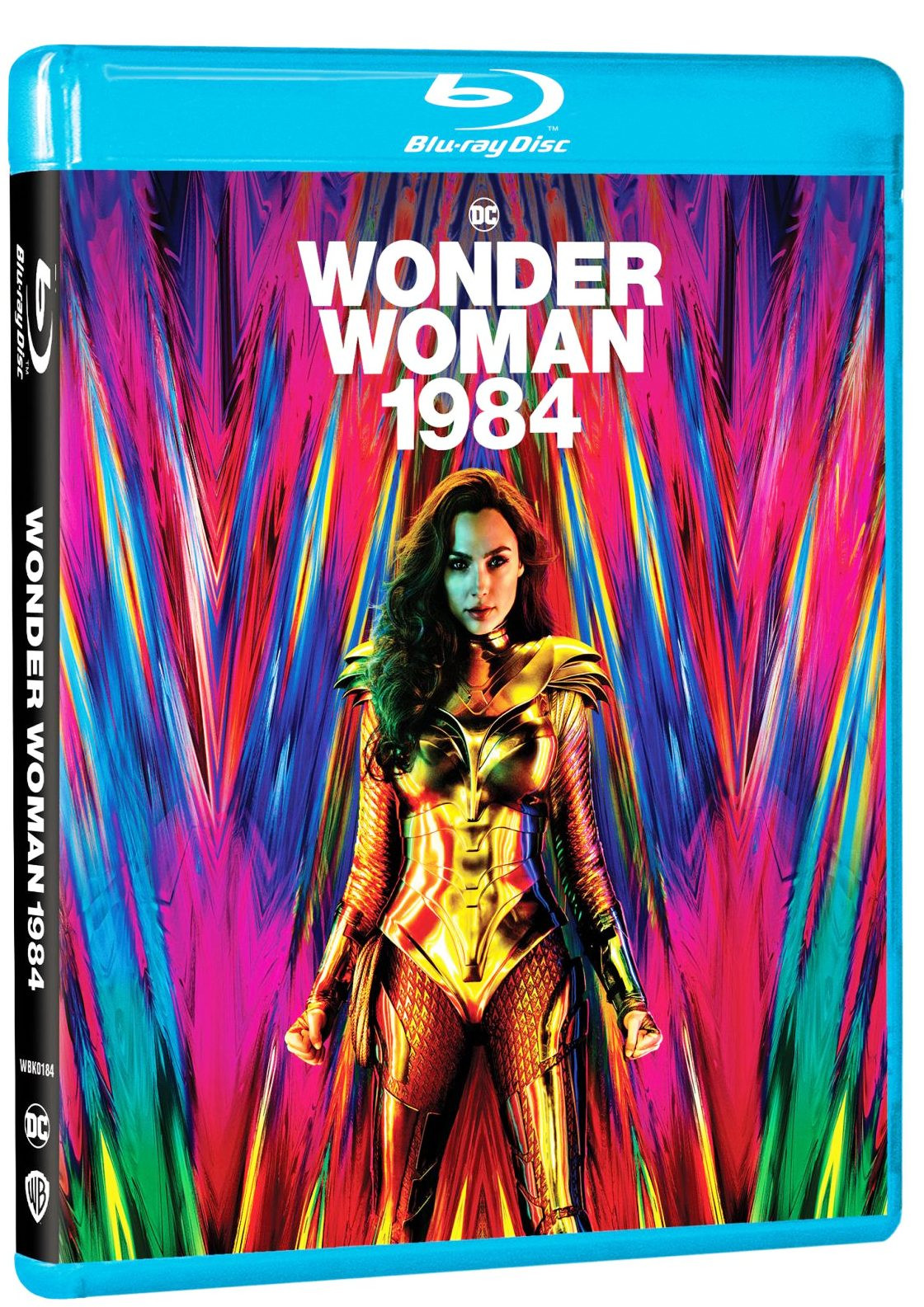 English Movie Wonder Woman 1984 Blu-ray