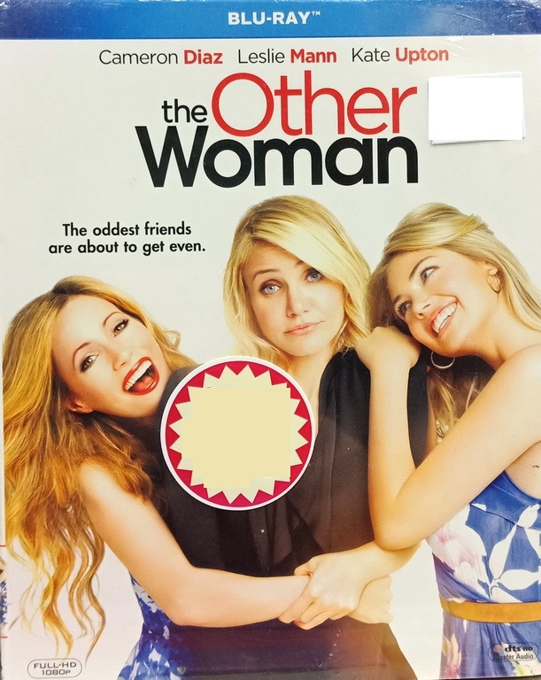 English Movie The Other Woman Blu-Ray
