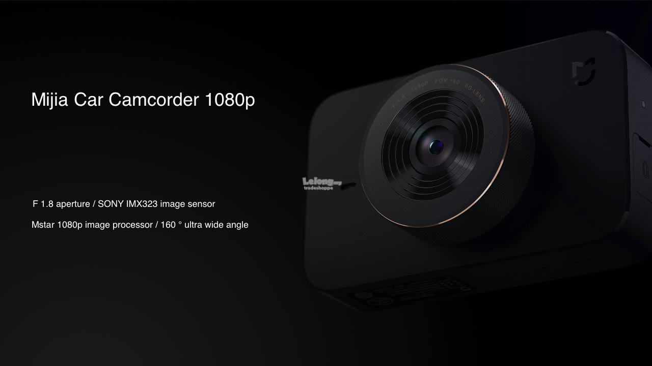 English* Xiaomi Mijia Mi Car Camcorder DashCam Camera 1080p