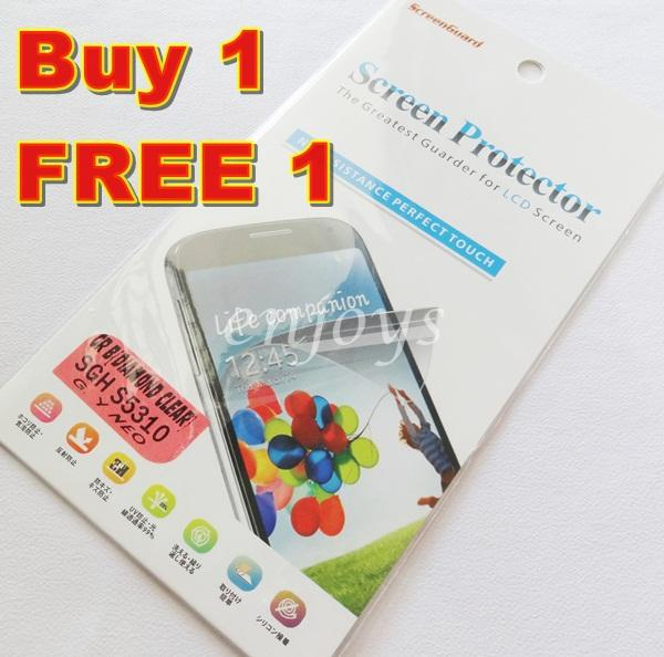 Enjoy 2x DIAMOND Clear LCD Screen Protector Samsung Galaxy Y Neo S5310
