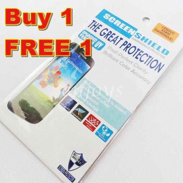 Enjoys: 2x DIAMOND Clear 4H LCD Screen Protector Lenovo A5800 A5800D