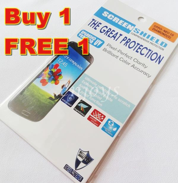 Enjoys: 2x DIAMOND Clear 4H LCD Screen Protector for Oppo Neo 5s