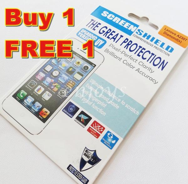Enjoys: 2x DIAMOND Clear LCD Screen Protector for Lenovo A238T