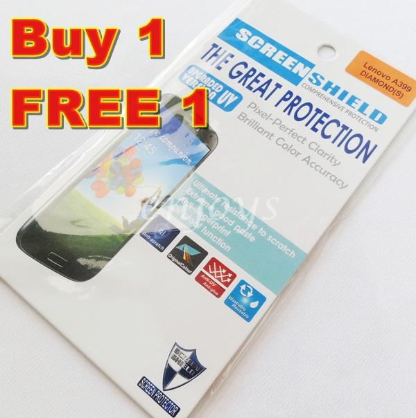 Enjoys: 2x DIAMOND Clear LCD Screen Protector for Lenovo A399