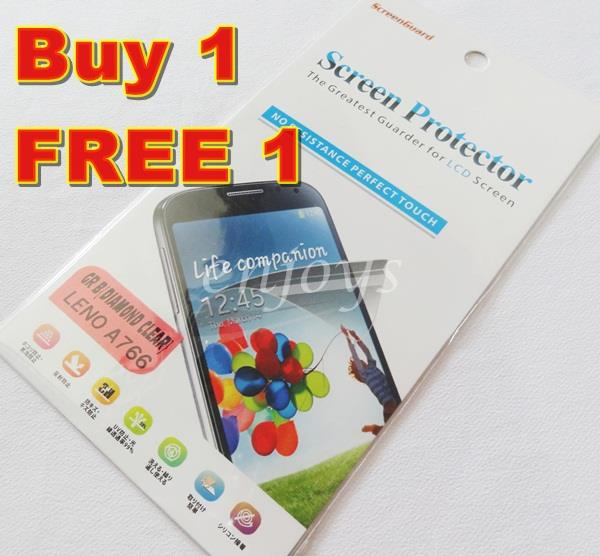Enjoys: 2x DIAMOND Clear LCD Screen Protector Lenovo A766