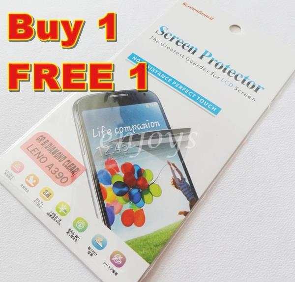 Enjoys: 2x DIAMOND Clear LCD Screen Protector Lenovo IdeaPhone A390