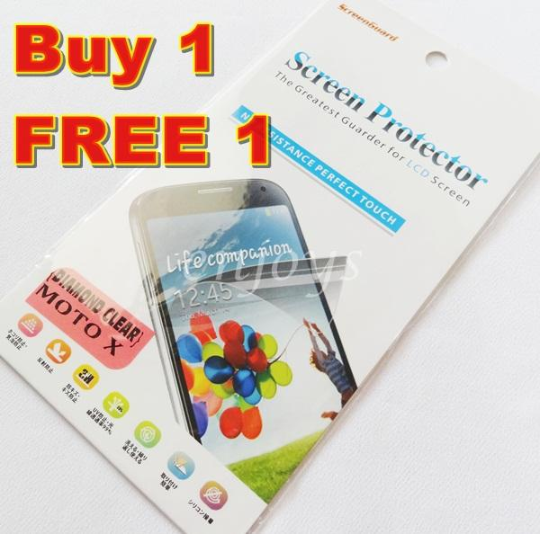 Enjoys: 2x DIAMOND Clear LCD Screen Protector Motorola Moto X / XT1052