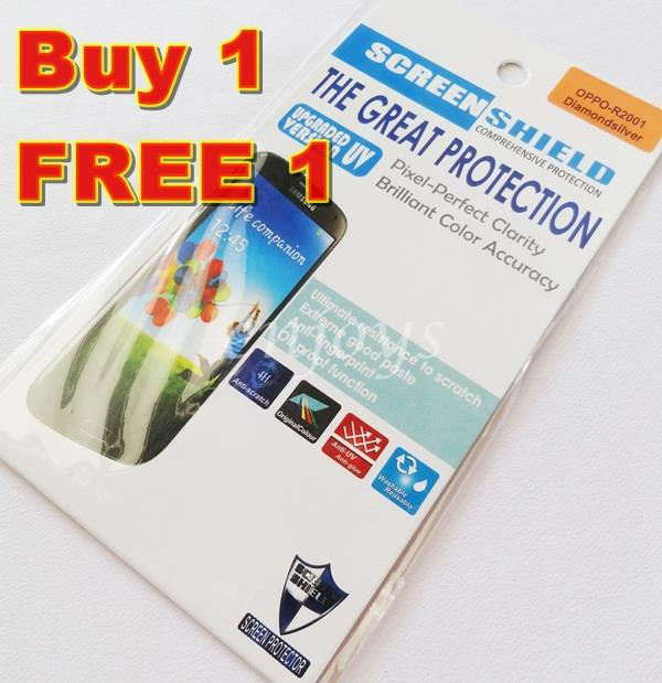 Enjoys: 2x DIAMOND Clear LCD Screen Protector for Oppo Yoyo / R2001