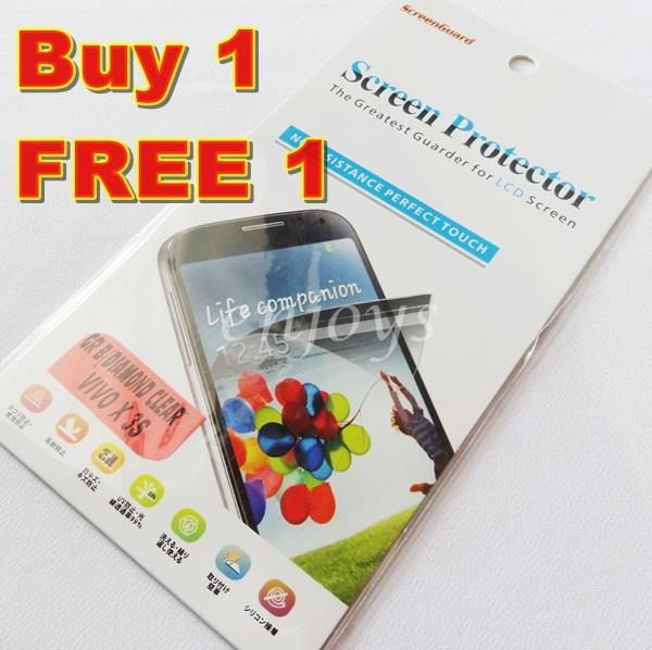 Enjoys: 2x DIAMOND Clear LCD Screen Protector for vivo X3 X3S