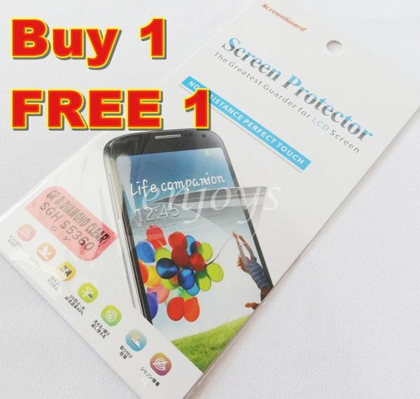 Enjoys 2x DIAMOND Ultra Clear Screen Protector Samsung Galaxy Y S5360