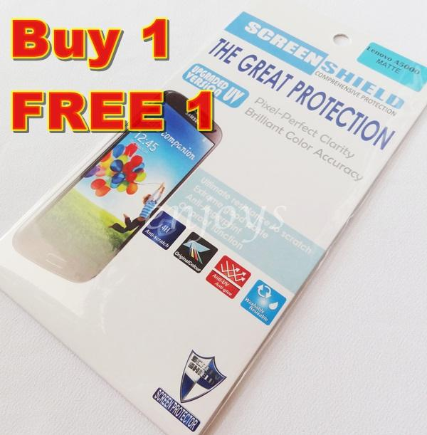 Enjoys: 2x MATTE AG 4H LCD Screen Protector Lenovo A5000 5.0' Phone