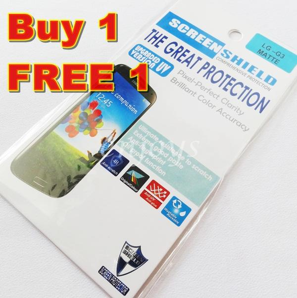 Enjoys: 2x MATTE AG 4H LCD Screen Protector LG G3 / D851 D855 D858