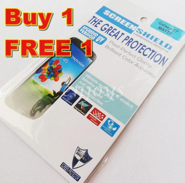 Enjoys: 2x MATTE AG 4H LCD Screen Protector Samsung Galaxy E7 /E700H