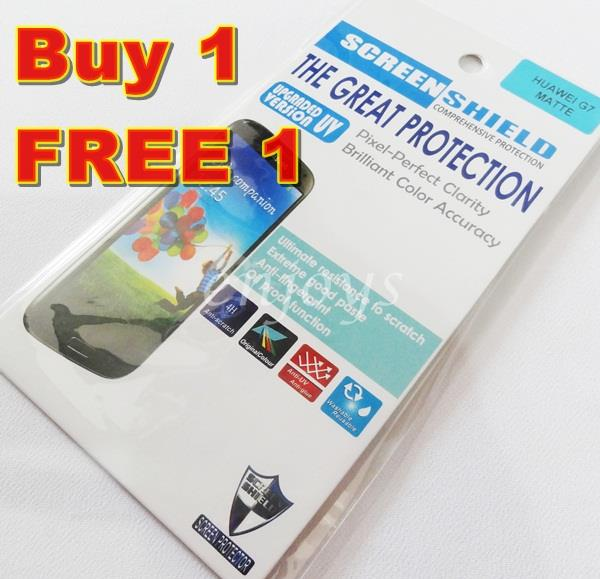 Enjoys: 2x MATTE AG LCD Screen Protector for Huawei Ascend G7