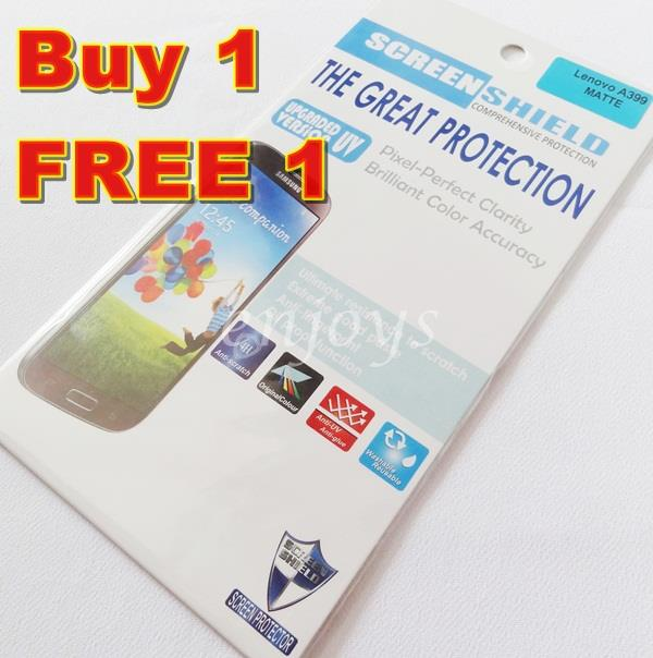 Enjoys: 2x MATTE AG LCD Screen Protector for Lenovo A399