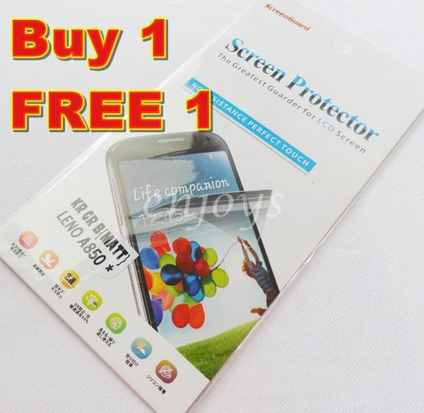 Enjoys: 2x MATTE AG LCD Screen Protector for Lenovo IdeaPhone A850