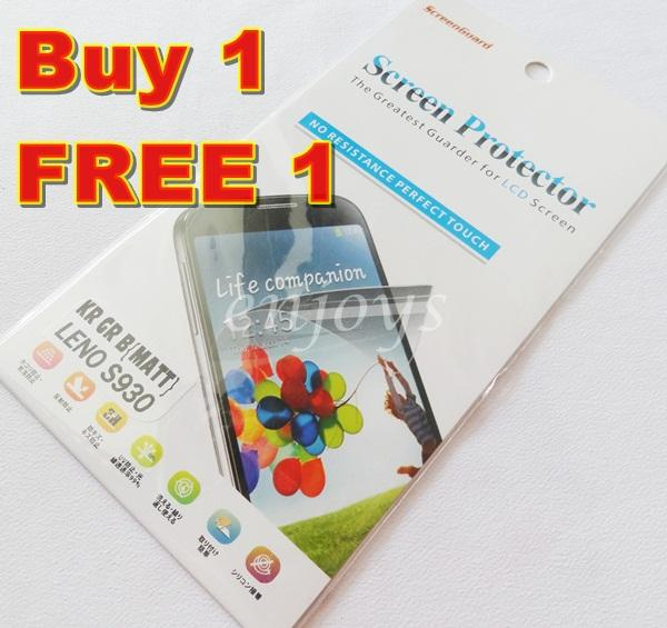 Enjoys: 2x MATTE AG LCD Screen Protector for Lenovo IdeaPhone S930