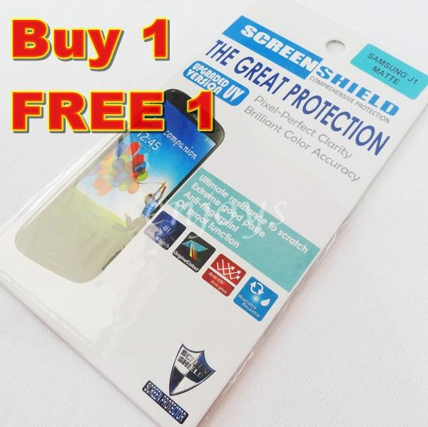 Enjoys: 2x MATTE AG LCD Screen Protector Samsung Galaxy J1 /J100H