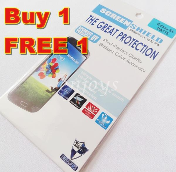 Enjoys: 2x MATTE AG LCD Screen Protector for Samsung Galaxy S6 / G920F