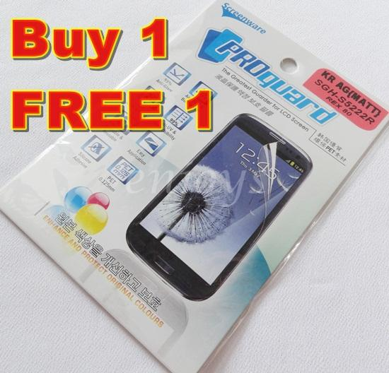 Enjoys: 2x MATTE AG LCD Screen Protector for Samsung Rex 80 S5222R