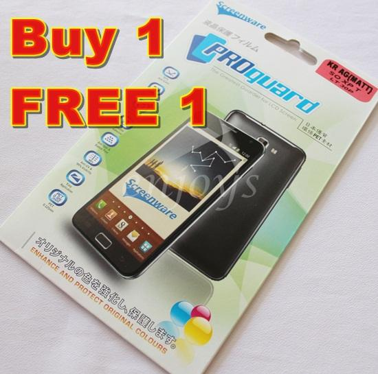 Enjoys: 2x MATTE AG LCD Screen Protector for Sony Xperia T / LT30p