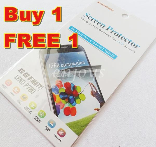 Enjoys: 2x MATTE Anti Glare LCD Screen Protector Lenovo IdeaPhone P780
