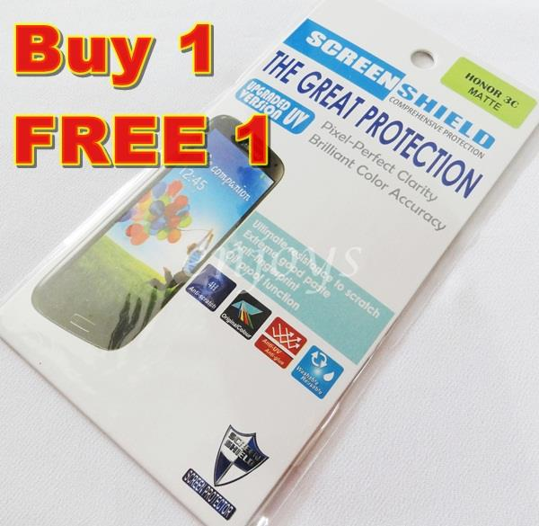 Enjoys: 2x MATTE Anti Scratch LCD Screen Protector for Huawei Honor 3C