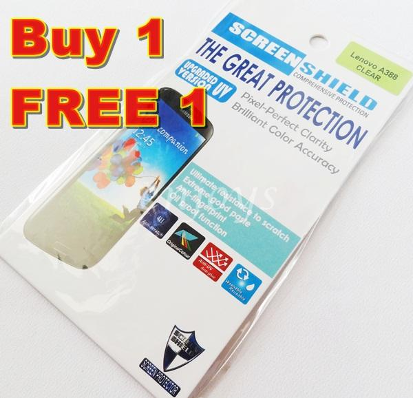 Enjoys: 2x Ultra Clear 4H LCD Screen Protector for Lenovo A388T