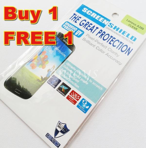 Enjoys: 2x Ultra Clear 4H LCD Screen Protector for Lenovo A399