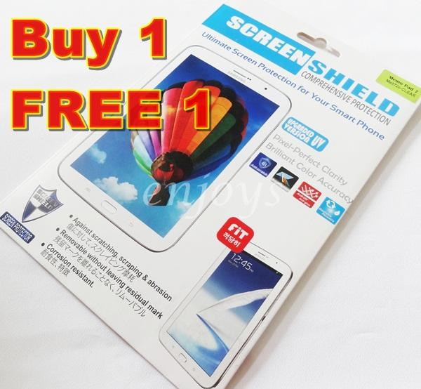 Enjoys: 2x Ultra Clear LCD Screen Protector Asus Memopad 7 ME572CL