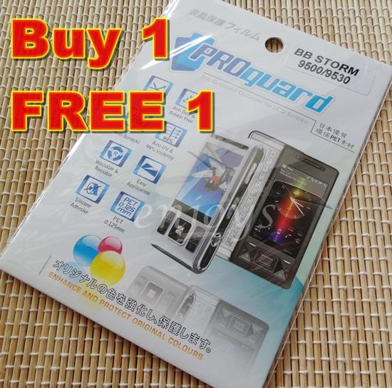 Enjoys: 2x Ultra Clear LCD Screen Protector BlackBerry Storm 9500 9530