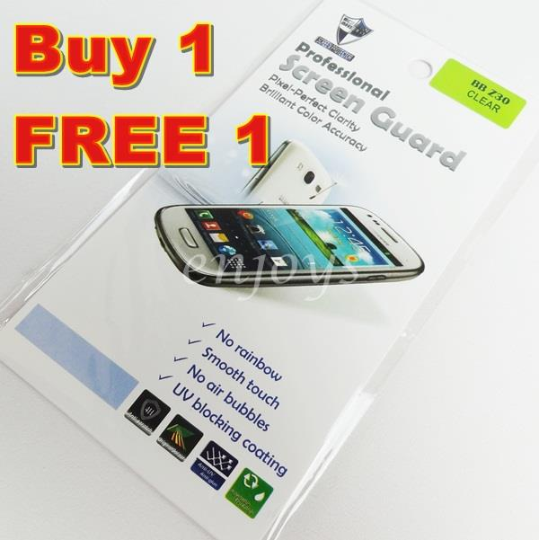 Enjoys: 2x Ultra Clear LCD Screen Protector for Blackberry Z30