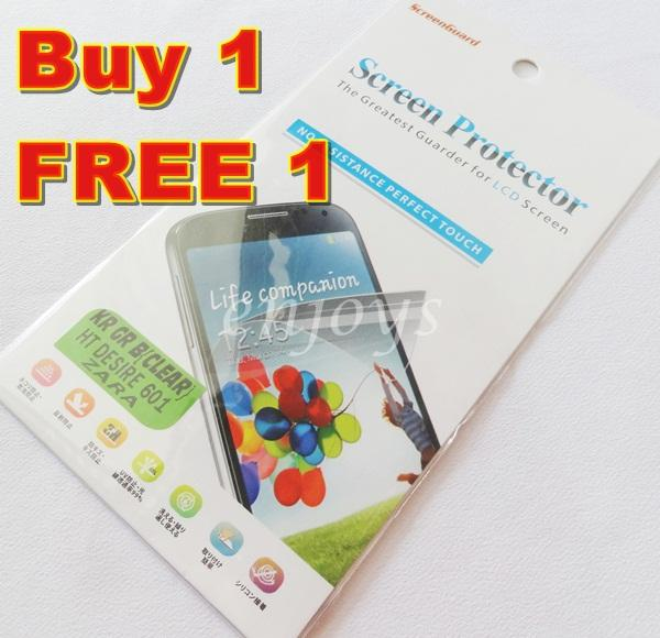 Enjoys: 2x Ultra Clear LCD Screen Protector HTC Desire 601 Dual Sim