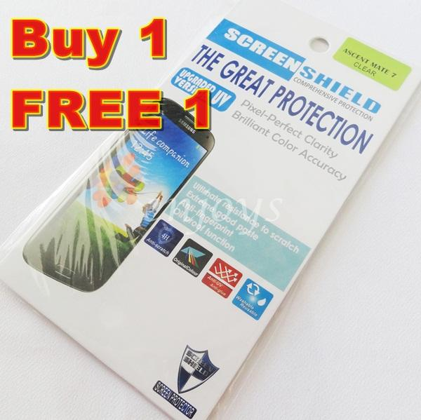 Enjoys: 2x Ultra Clear LCD Screen Protector for Huawei Ascend Mate 7