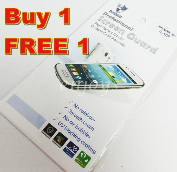 Enjoys: 2x Ultra Clear LCD Screen Protector for Huawei Honor 3C